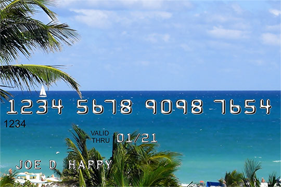 Holiday credit card