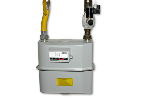 Domestic gas meter