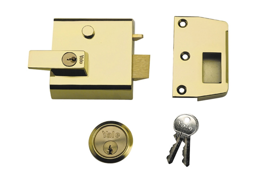 Rim automatic deadlatch