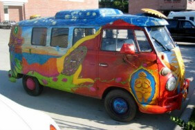 The magic bus to India