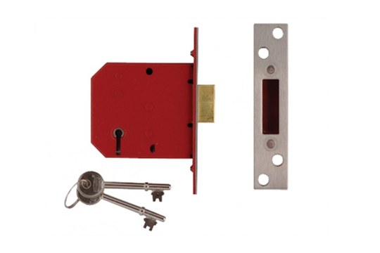 Five-lever mortice lock
